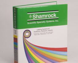 Custom Four Color 3 Ring Binder, Full Color Binder Shamrock