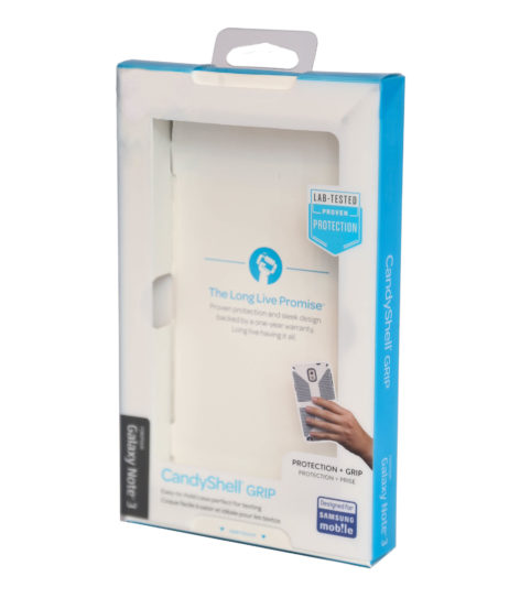 Custom Full-Color Poly Retail Packaging, Phone Case Box