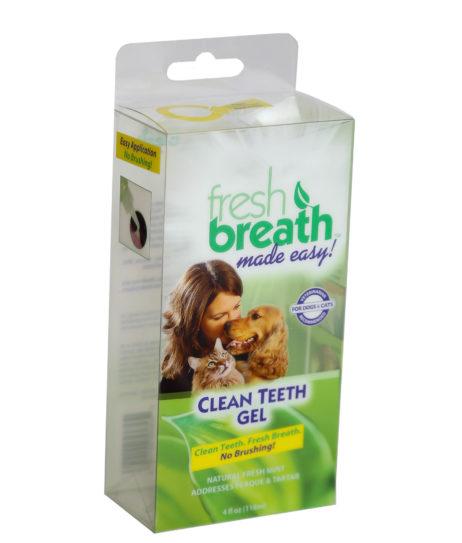 Custom Full-Color Poly Retail Packaging, Pet Clean Teeth Gel