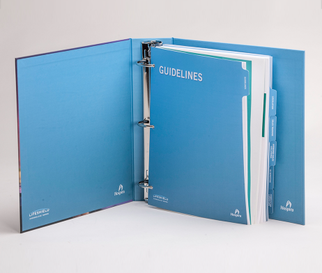 3 Ring Binder Custom Fulfillment and Drop Ship Hospira