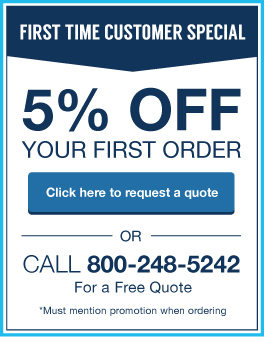 K&L Looseleaf Products, Inc., First Time Customer Special, 5% Off