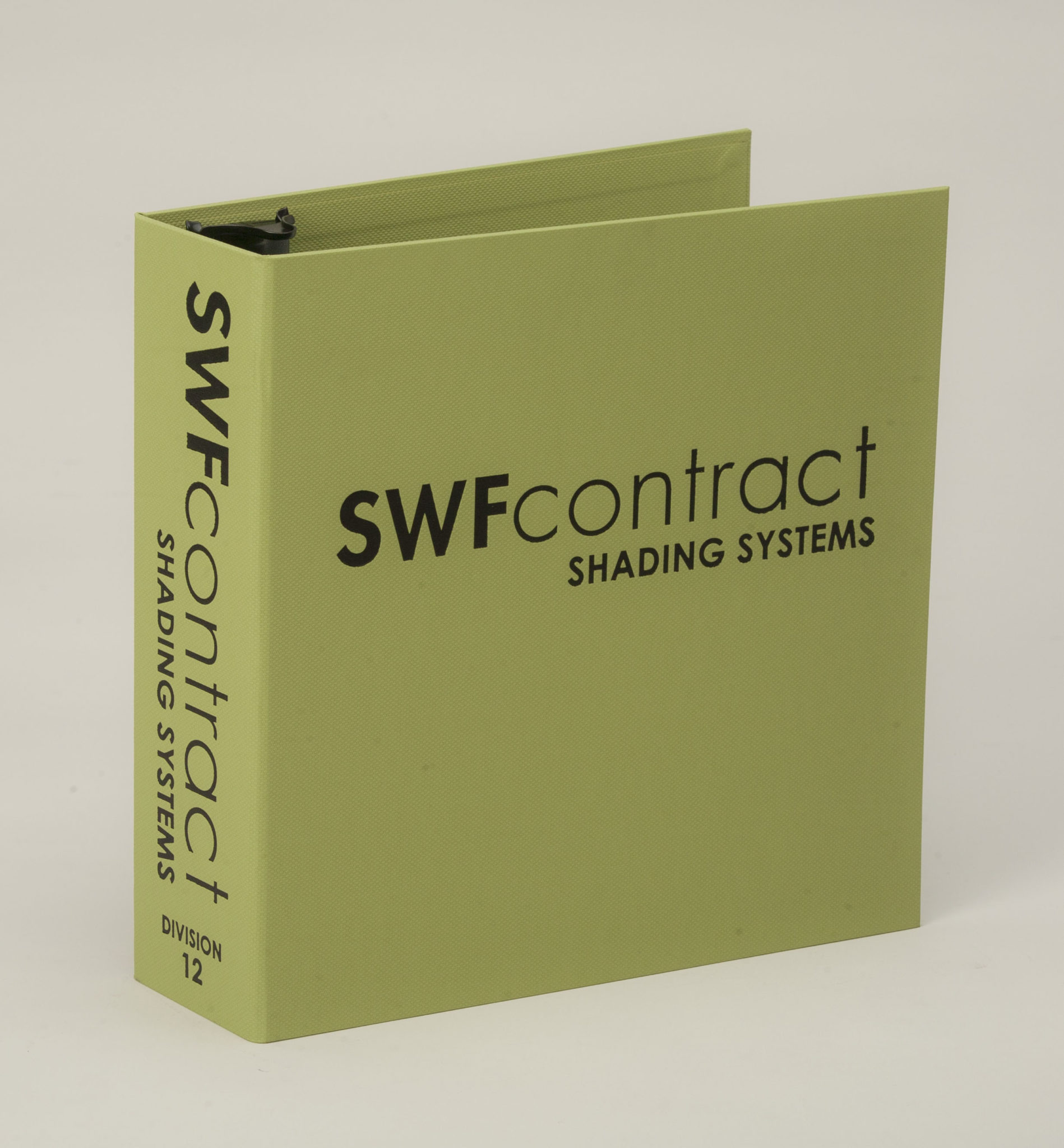 Case Wrapped 3 Ring Binder SWF Contract Shading Systems
