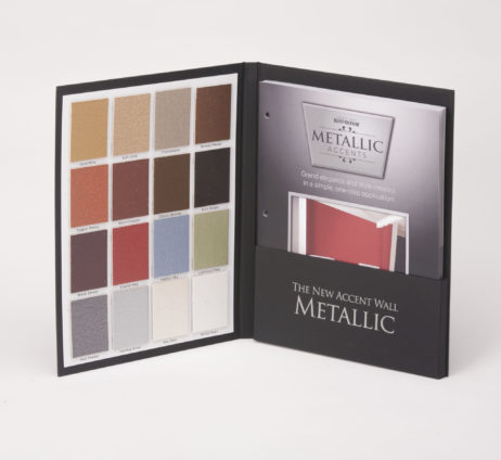Case Wrapped Sample Color Case Metallic Accents Rust-Oleum
