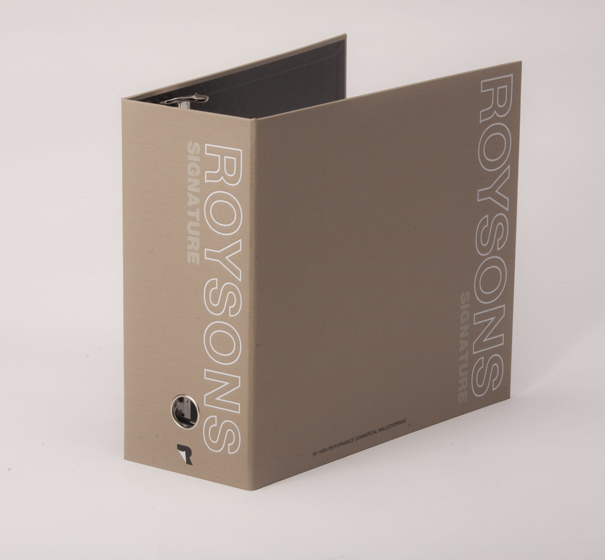 Case Wrapped 3 Ring Binder Roysons