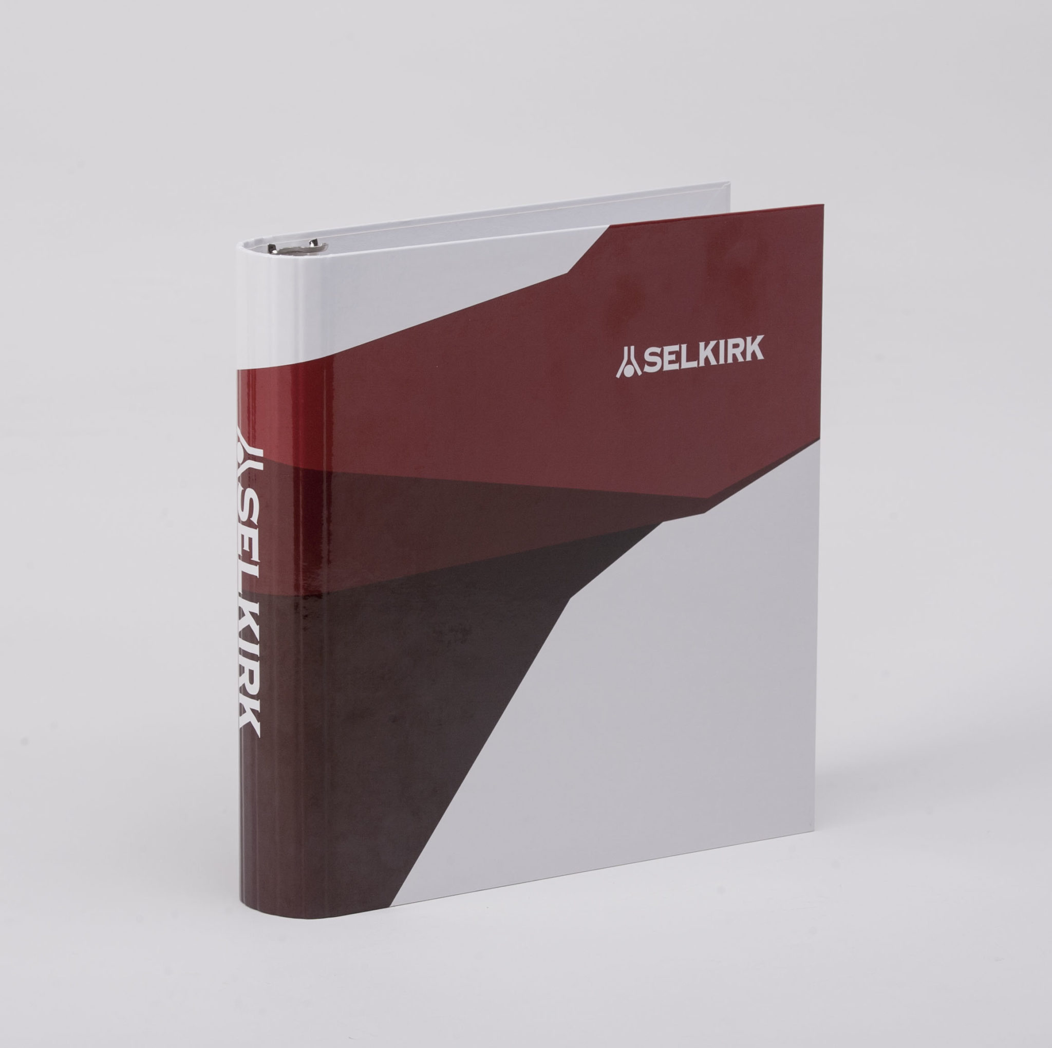 Custom Full-Color Digital Case Wrapped Euro Flexhinge Binder