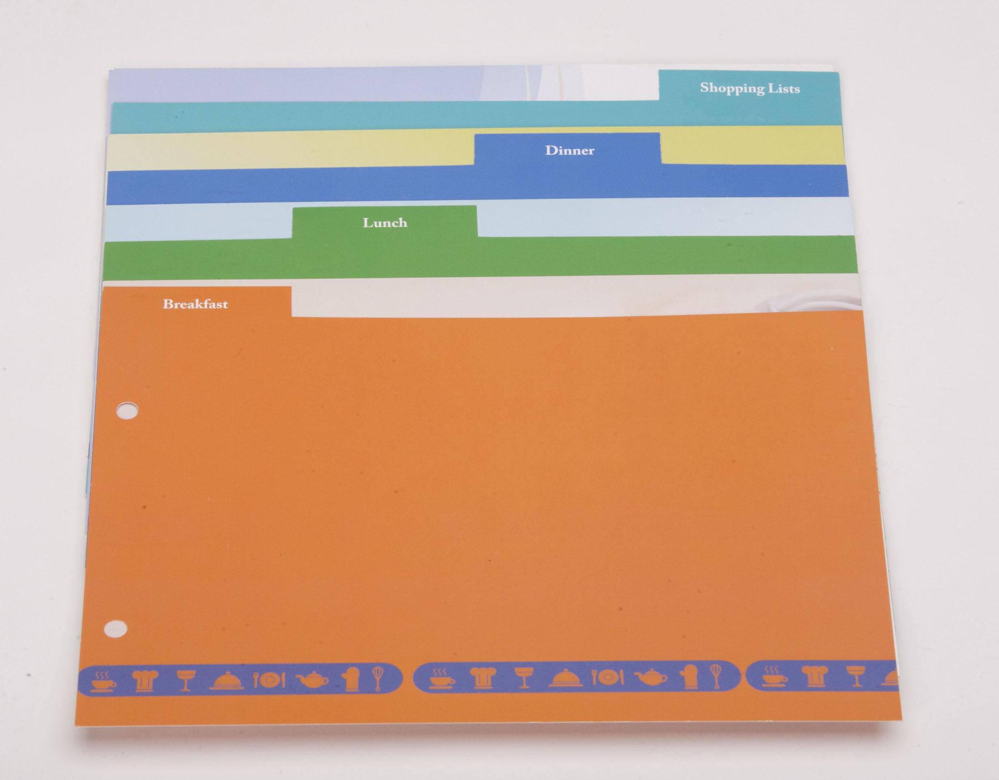 Custom Index Tabs Divider Sheets