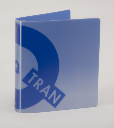 Custom Full-Color 3 Ring Poly Binders Tran