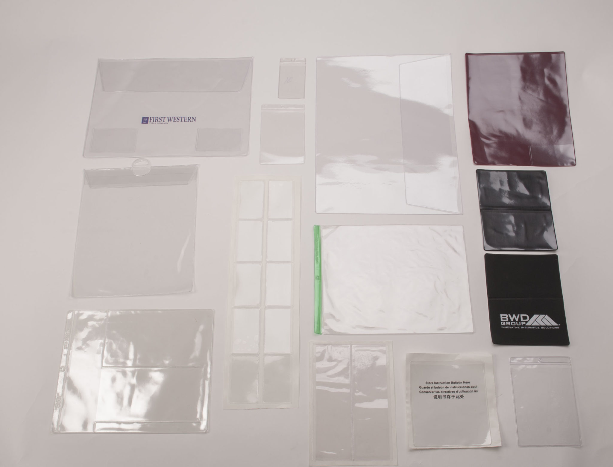 Vinyl Pouches Sleeves Archives K Amp L Looseleaf Products Inc