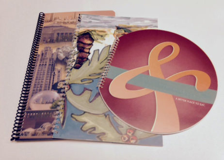 Custom Spiral Binding Two Piece Cover