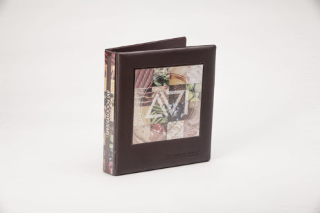 Custom Full-Color 3 Ring Vinyl Binder AVI Foodsystems