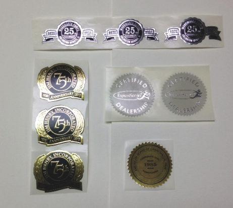 Custom Self Adhesive Seals