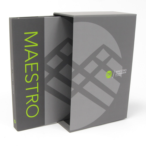 Custom Corporate Binders – Maestro