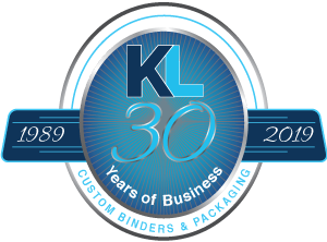 K&L Looseleaf Products 30 Years of Business – Custom Binders and Packaging