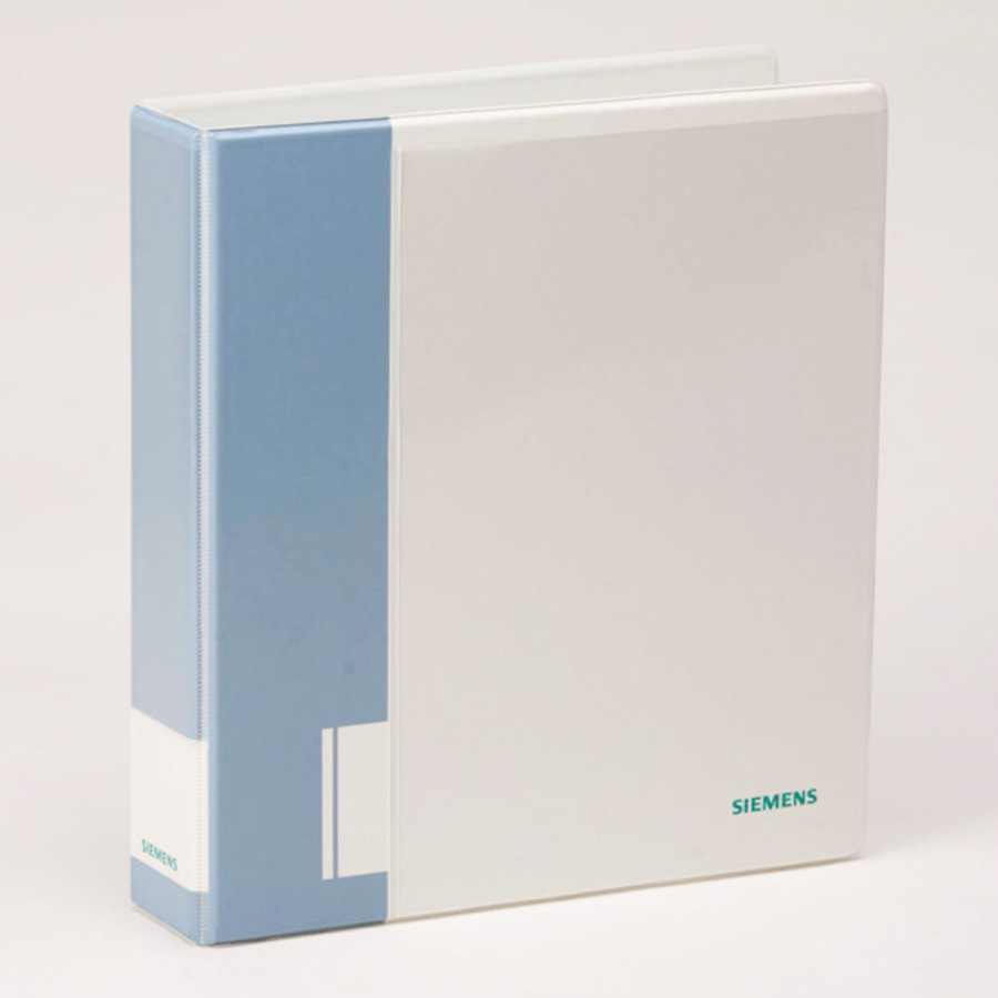 Custom Full Color 3 Ring Vinyl Corporate Binder