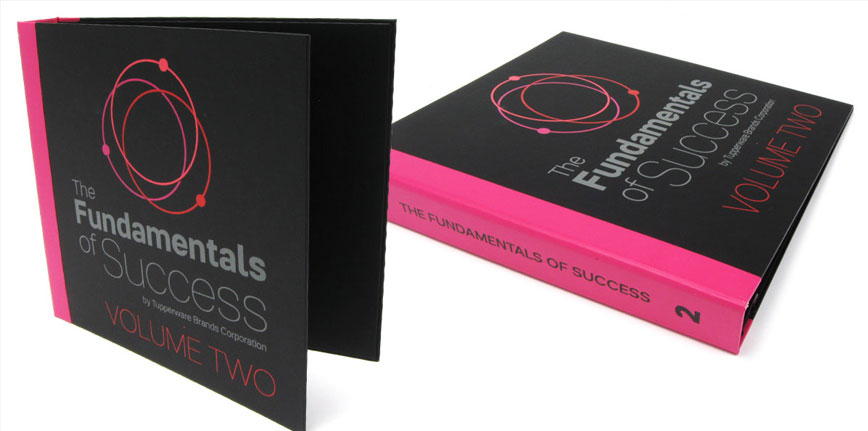 Tupperware Custom Corporate Binder