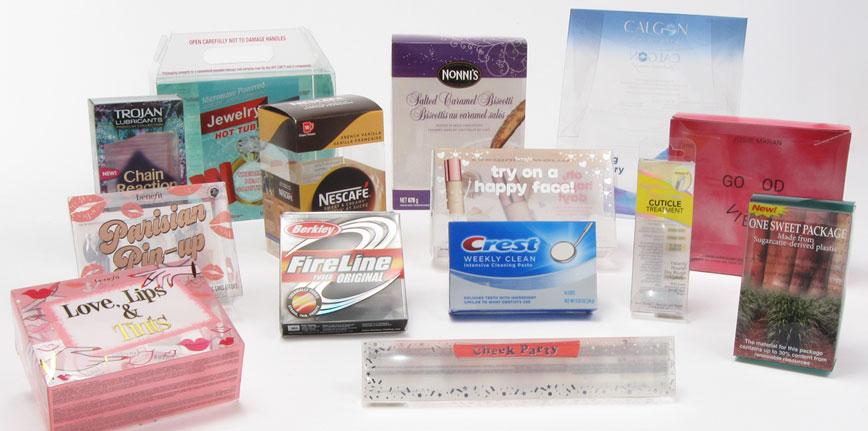Custom Clear Plastic Folding Boxes